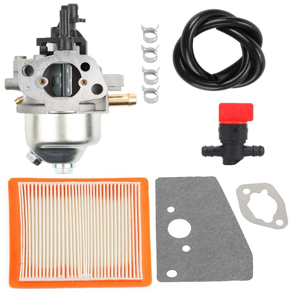 Harbot Carburator with Fuel Line Shut Off Valve Rebuild Diaphragm Gasket Kit for Kohler XT650 XT675 XT149 20371 Courage XT6 XT7 Engine 14 853 21-S 14 853 36-S 14 853 49-S Stens 520-706