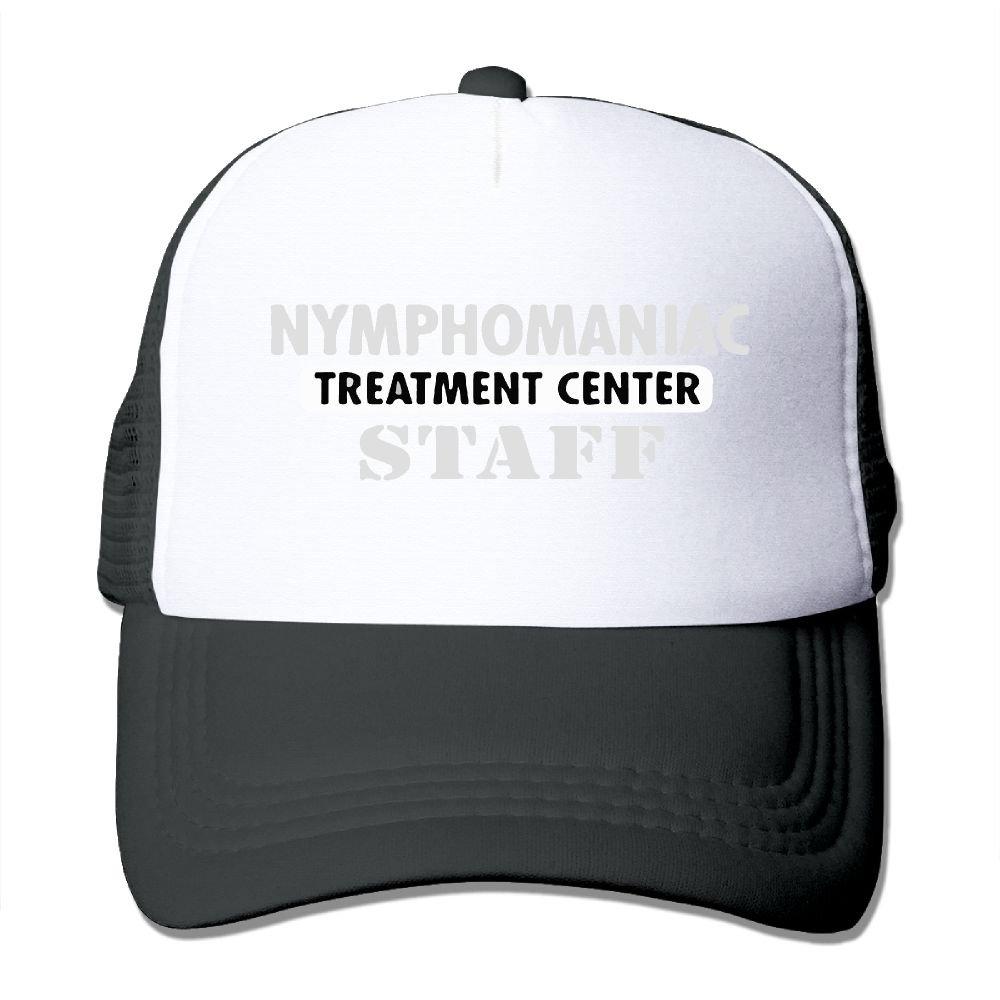 WestWell Nymphomaniac Treatment Center Staff Mesh Hat Unisex Trucker Caps Sun Mesh Back Cap Hat Comfortable
