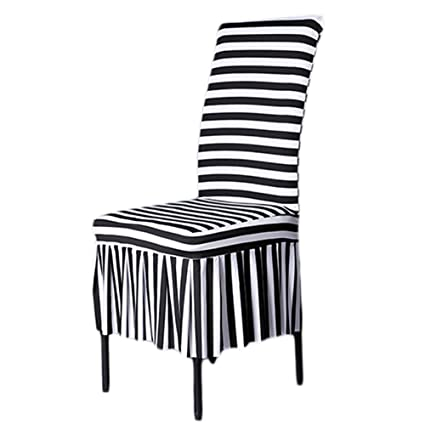 Amazon Com Shzons Trade Classic Chair Slipcovers Stretch Ruffled
