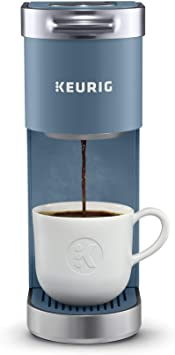 Keurig K-Mini Plus Coffee Maker - Single Serve K-Cup Pod Coffee Brewer (Comes With 6 to 12 Oz. Brew Size) K-Cup Pod Storage & Travel Mug Friendly