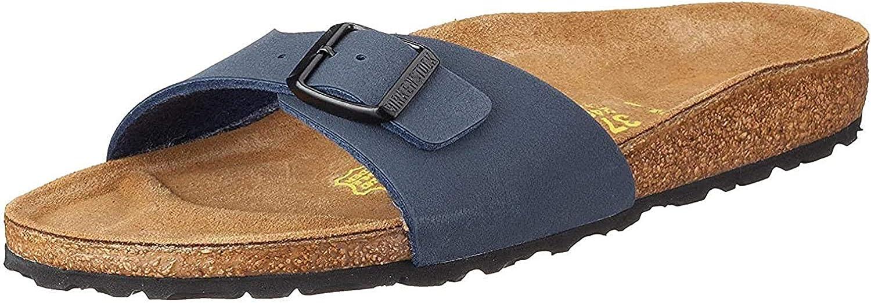 Birkenstock Women´s Madrid Navy Birkibuc Sandals 37 EU (M4/L6 US) N 040123