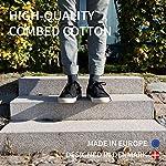 DANISH ENDURANCE Chaussettes en Coton pour Homme et Femme, Lot de 3 Paires, Respirantes, Douces et Fabriquées en Europe… 7