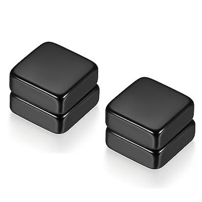 502c866fda87 Flongo Pendientes falsos magneticos