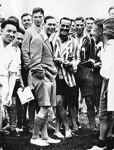 George Vi (1895-1952)Nking Of Great Britain 1936-1952 Photographed When Duke Of York Watching Sports At His Camp For Working Boys At Southwold Photograph Poster Print by (24 x 36)