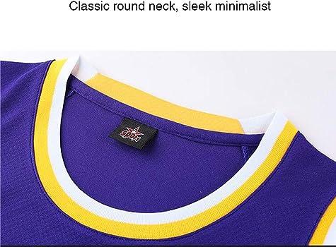 n/úmero de Ropa Mujeres Uniforme Lakers Este es un Muy Buen Equipo ni/ños SSDS 23# James 24# Camiseta de Baloncesto Kobe para Hombres