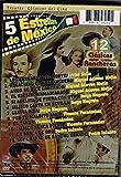 5 ESTRELLAS DE MEXICO EN 12 CLASICAS PELICULAS RANCHERAS [LOS BARBAROS DEL NORTE & ROGACIANO EL HUAPANGUERO & AMOR SE DICE CANTANDO & EL ASESINO ENMASCARADO & SI ADELITA SE FUERA CON OTRO Y MAS...