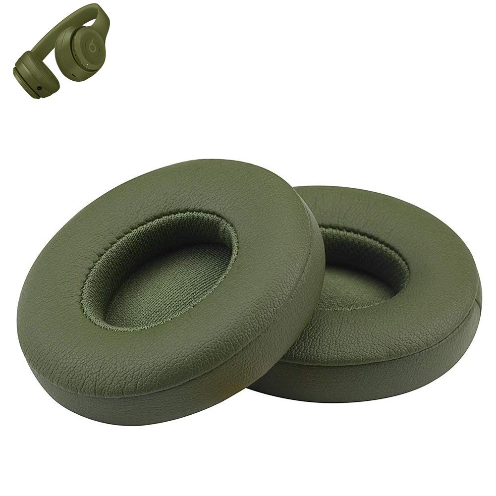 Almohadillas Repuesto para Beats Solo 2 Verde