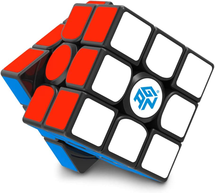 Gan 356 Air SM 3x3 Speed Cube Gans 356 Air S 3by3 Speed Cube Magnetic Cube 3x3x3 Puzzle Toy Black 2019 Upgraded Version
