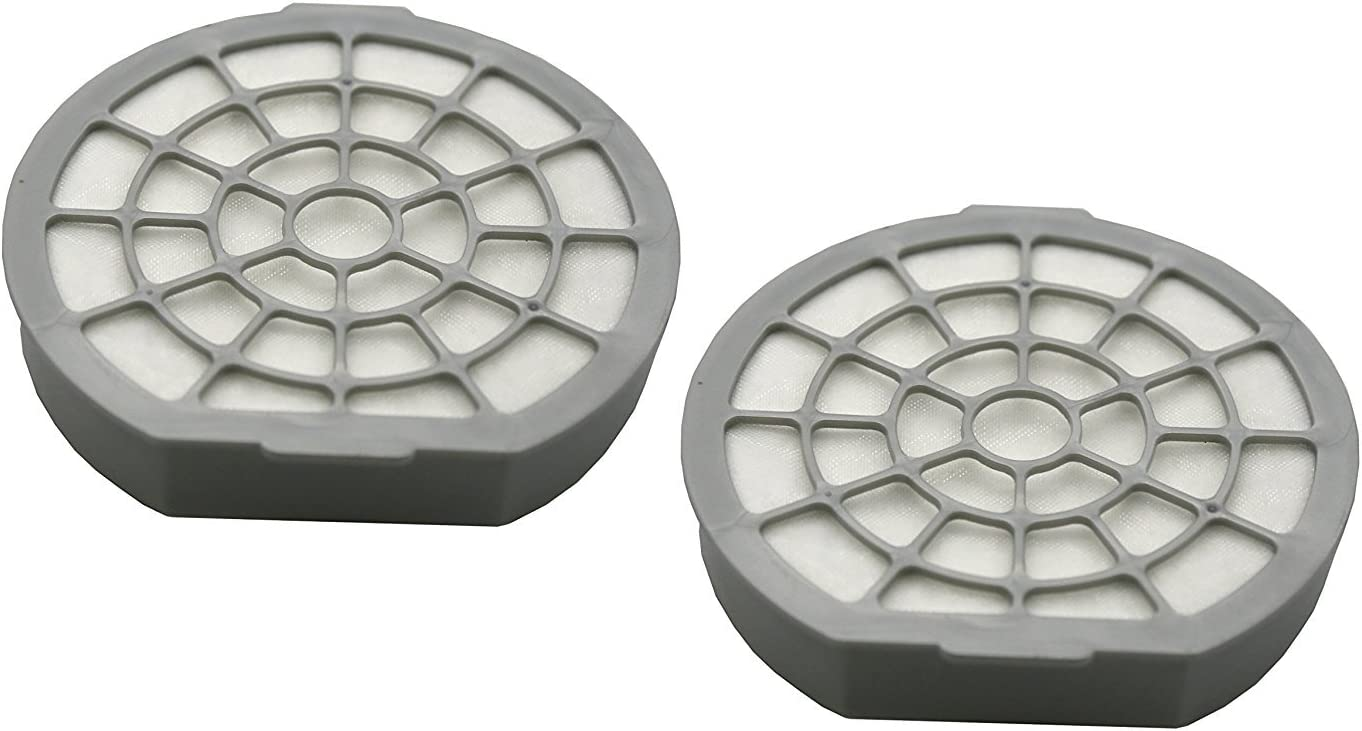2 Pack Dual Motor Protection Filter for Dirt Devil Infinity Excell, Proxima Vacuum Cleaners (compares to 5050001). Genuine Green Label Product.