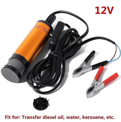 Amazon.com: 12 V 38 mm combustible bomba de aceite Diesel ...