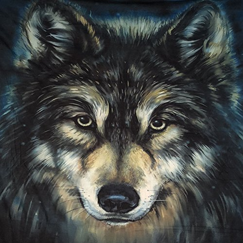 Xinhuaya Realistic Wolf Printed Wall Hanging Tapestry with Romantic Pictures Art Nature Home Decorations for Living Room Dorm Bedroom Decor in 51x60 inches (51 W by 60'' L, Multi 28) by Xinhuaya (Image #2)