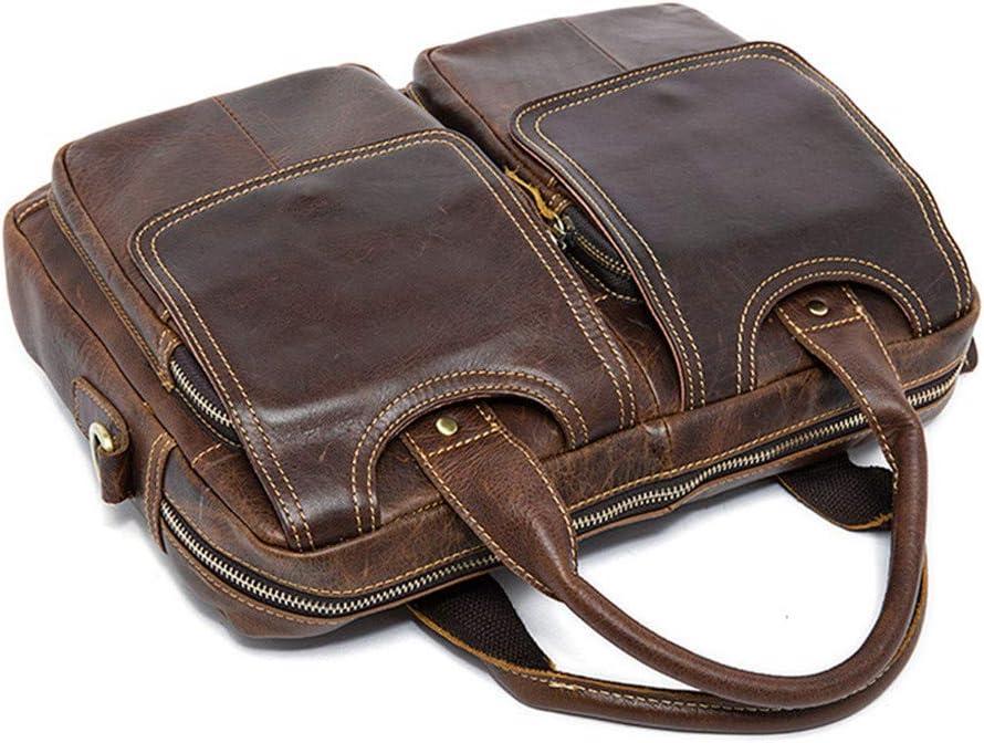 WUSHIYU Mens Messenger Bag Laptop Mens Large Laptop Messenger Shoulder Bag Vintage Briefcase Crossbody Day Bag Grey Satchel Shoulder Bag