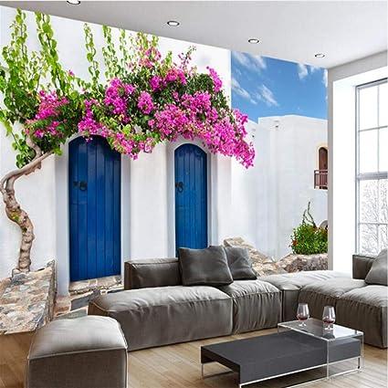 Wuyyii Personalizzato 3D Wallpaper Romantico Caldo Greco ...