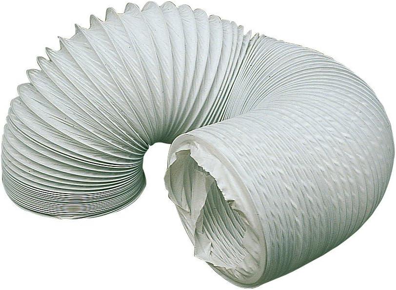 Invero - Manguera de ventilación de condensador universal de 2,5 m para la mayoría de marcas y modelos de secadoras con ventilación (3,5