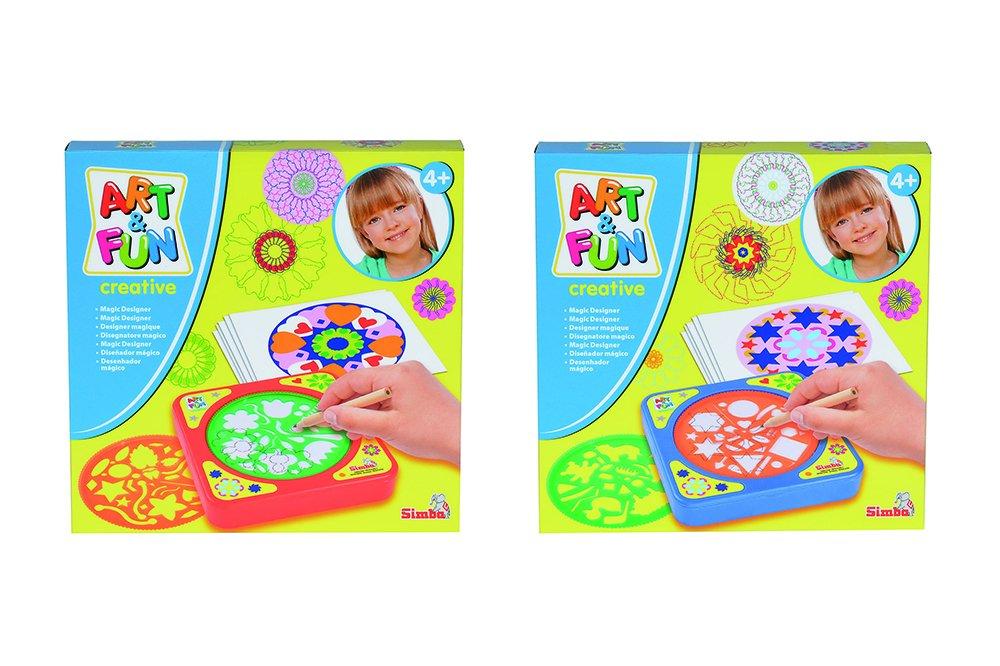 Simba Arte e Divertimento 106336594 Magico Designer per turistiche d'& Dormire 2 Simba Toys