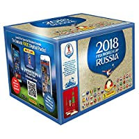 Panini World Cup Russia 2018 Sticker Display (100 Bags)