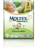 136St. Moltex Nature No1Peanuts Lot bébé couches Taille 3Midi (4–9kg) 4x 34pièces