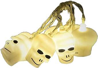 Halloween LED Lamp String Festival Decoration (4.5M / 30Led) Skull