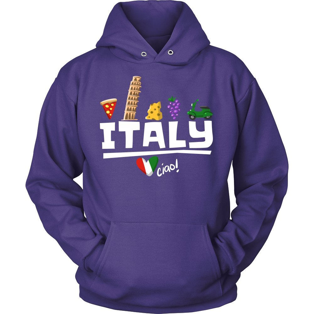 Love Italy and Everything Italian Culture Hoodie