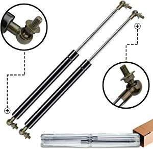 A-Premium Hood Lift Supports Shock Struts Replacement for Toyota Land Cruiser Landcruiser 100 Series 1998-2007 LX470