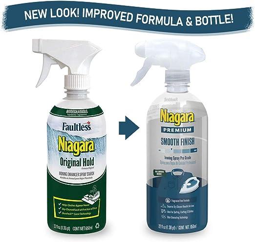 Niagara Bomba de disparador de Spray almidón, fécula de líquido ...