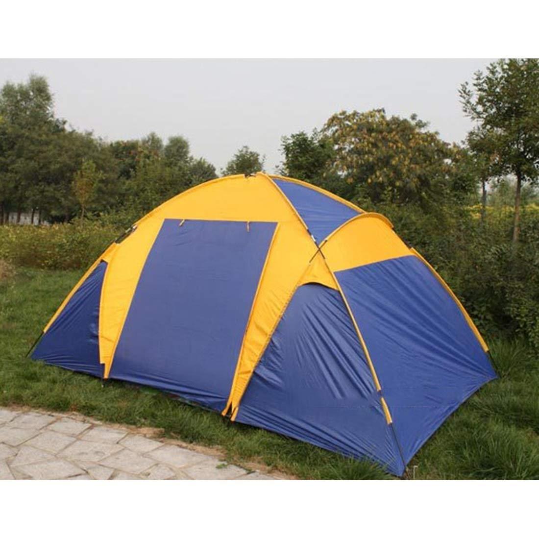 Kunliyin YY1 5 für Personen Zwei Zimmer und EIN Wohnzimmer Outdoor-Zelt für 5 Wilde Camping 123e2b