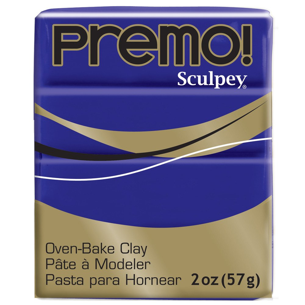 PE02 5572 Premo Sculpey Polymer Clay 2 Ounces-Cadmium Yellow
