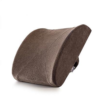 Cushion and cushions LL-Almohada de Almohada de Espuma de Memoria, Respaldo ergonómico para