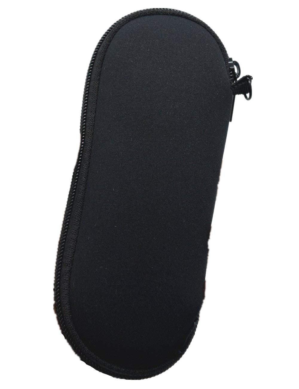 BASELIFE Tragbar Schl/üsselanh/ängerform Schutzh/ülle Sonnenbrille Soft Case Ultra Light Rei/ßverschluss Schwimmen Brillenetui f/ür Herren und Damen