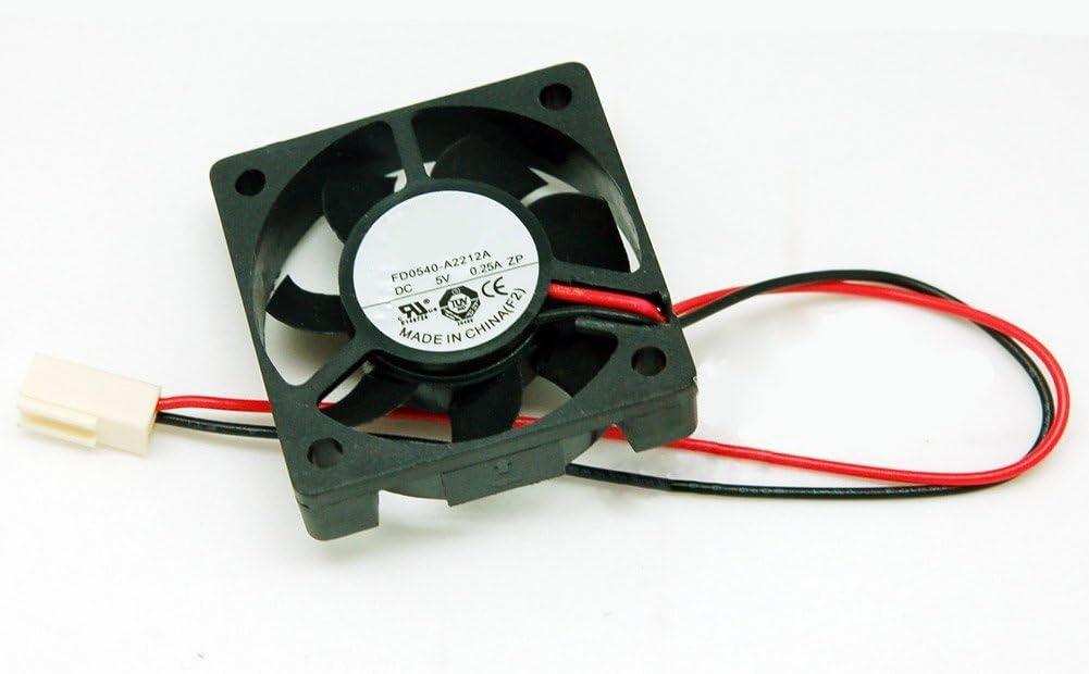 FD0540-A2212A FD0540-A3212A 404010mm 5V 0.25A 2Wire PC Computer Cooling Fan