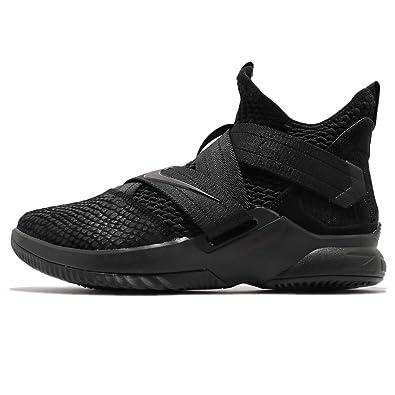 on sale 5f3af 3695b Nike Men s Lebron Soldier XII SFG EP, Black Black-Black, ...