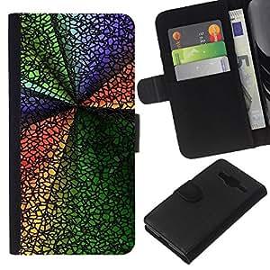 Stuss Case / Funda Carcasa PU de Cuero - Colores - Samsung Galaxy Core Prime