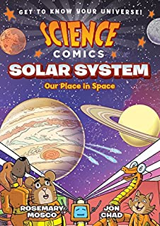 Book Cover: Science Comics: Solar System: Our Place in Space