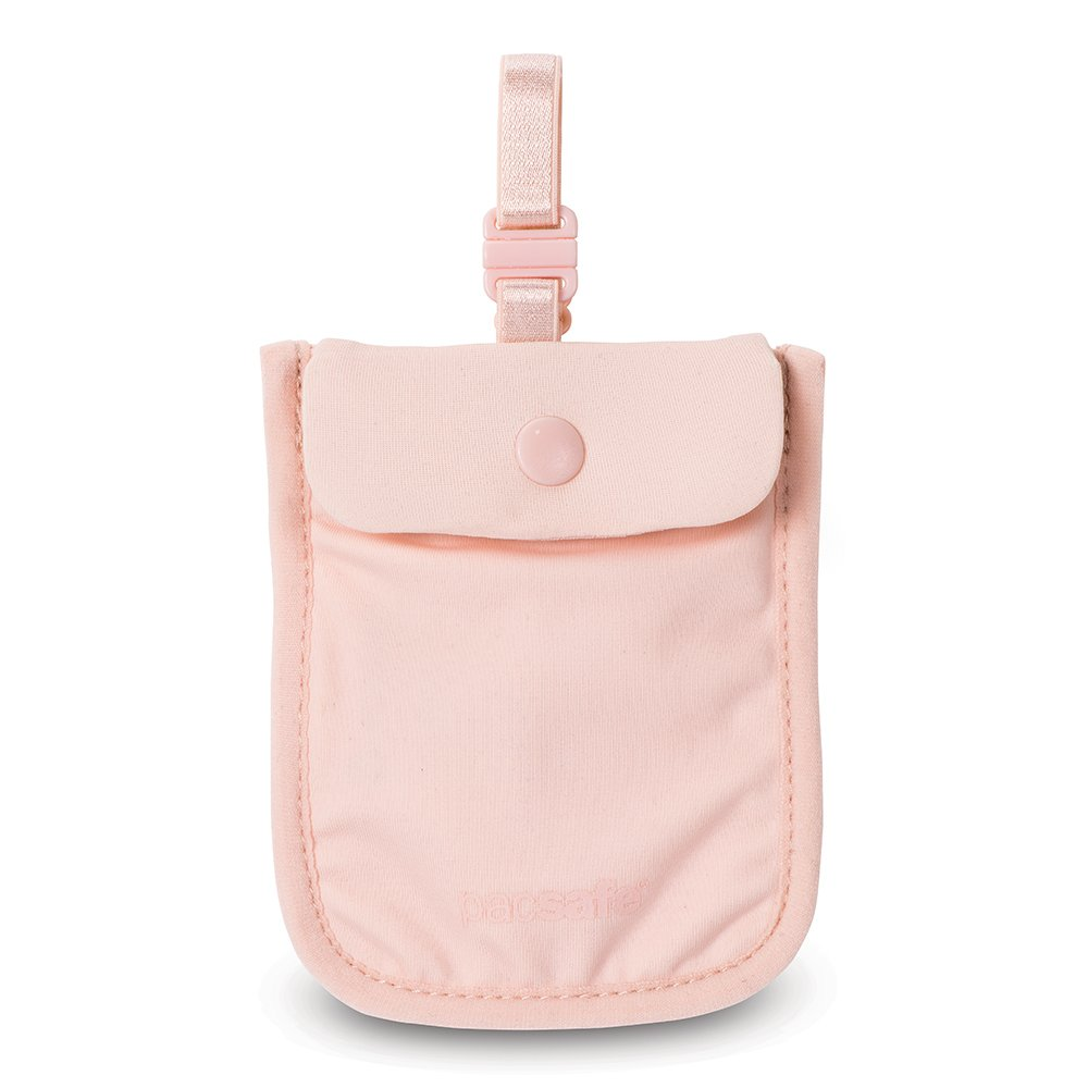 Pacsafe Coversafe S25 Anti-Theft Secret Bra Pouch, Orchid Pink Outpac Designes Inc.- PACSAFE 10121