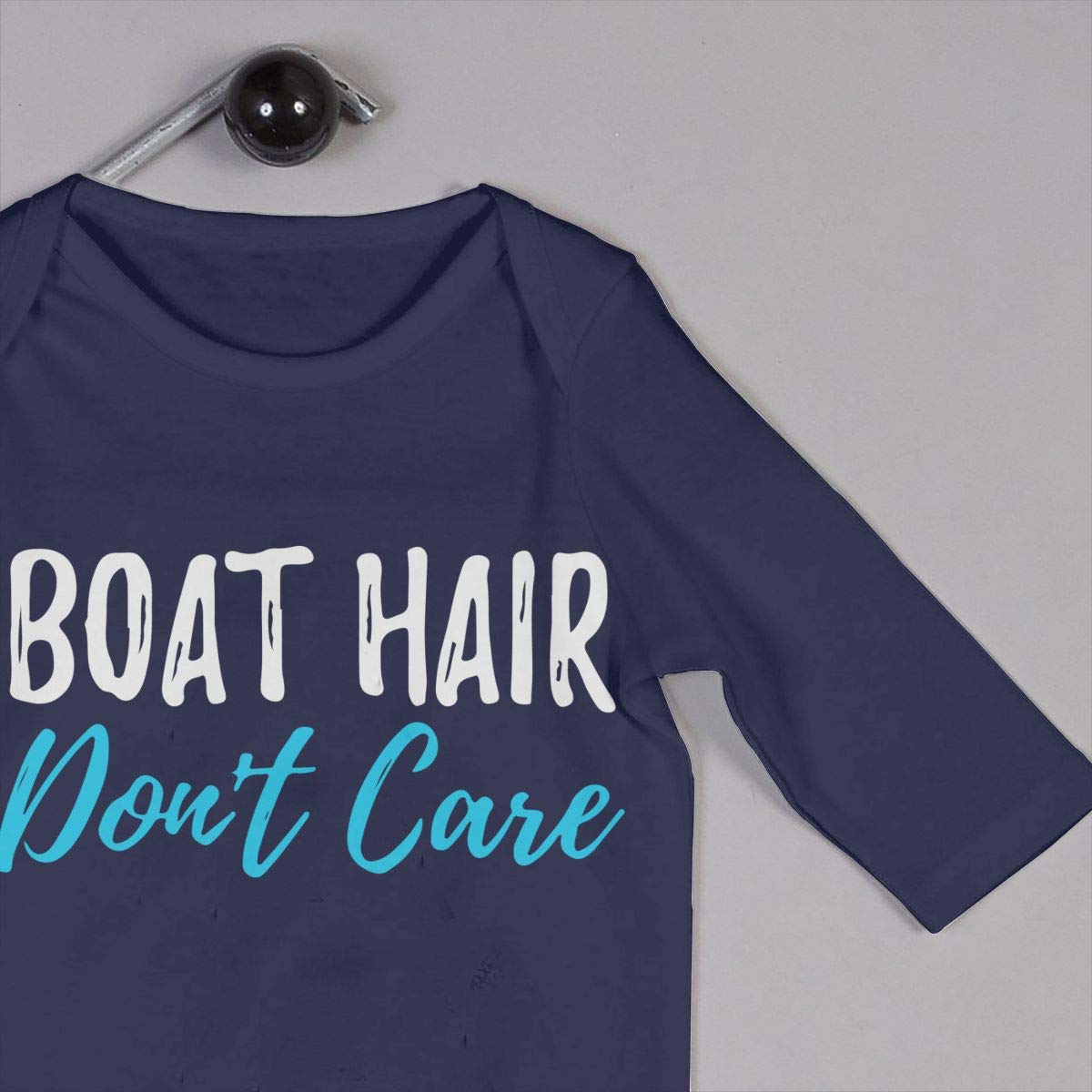 LBJQ8 Boat Hair Dont Care Baby Girls Soft /& Breathable Coveralls Jumpsuits