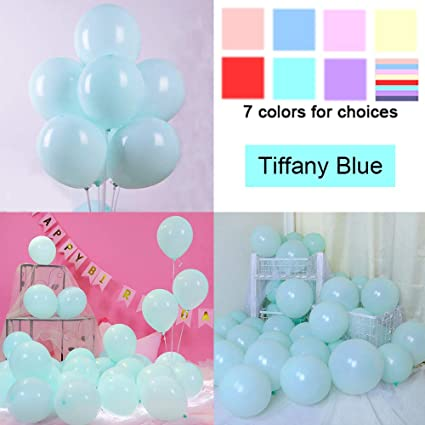20x 10 Inch Macaron Pastel 16 Color Latex Balloon Birthday Party Decoration Teal