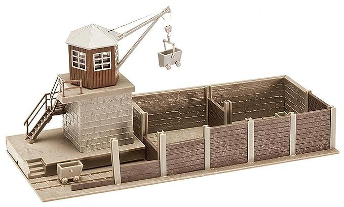 Amazon com: Faller 120147 coaling station HO Scale Building Kit