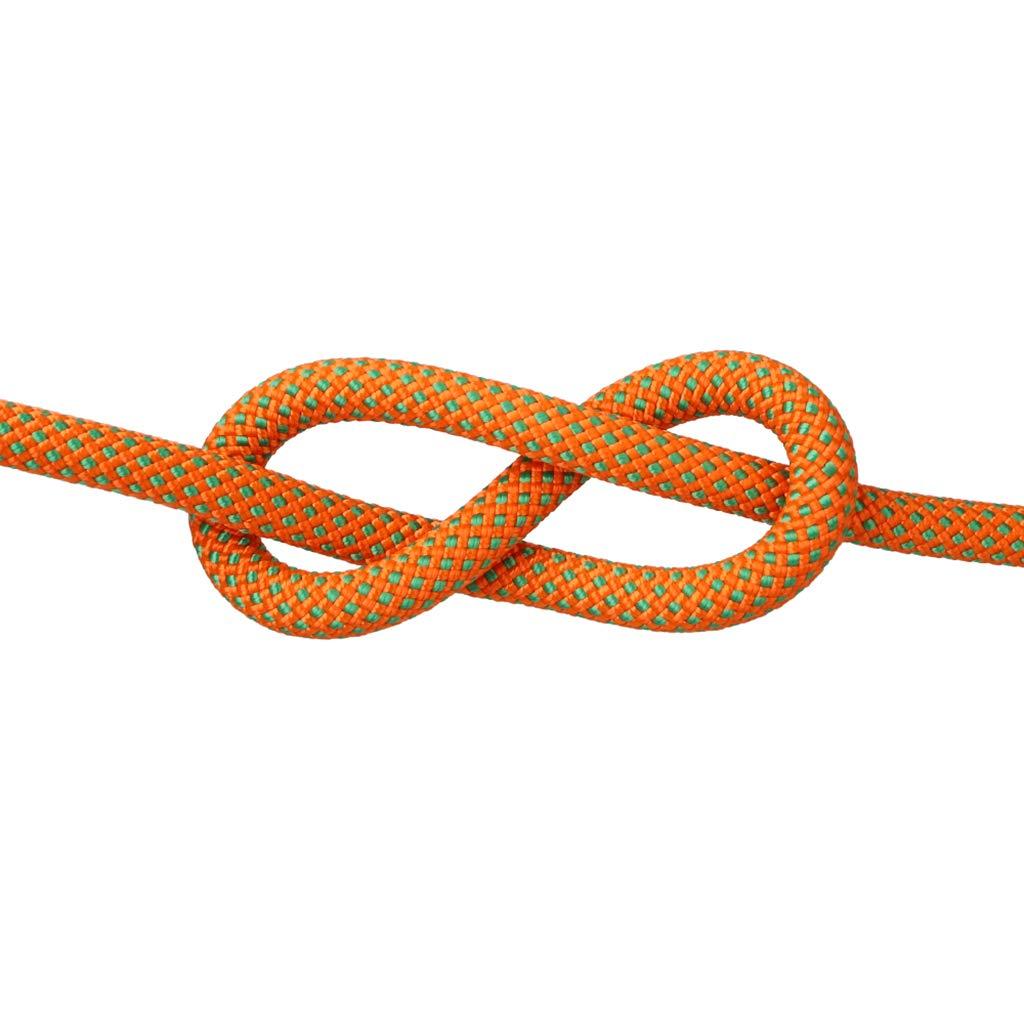 B QARYYQ Corde d'escalade Corde d'escalade de Sauvetage Corde de Chute de Corde Spider-Man Vitesse différentes Tailles de Couleur en Option Cordes (Couleur   A, Taille   10.5mm 20m) 10.5mm 50m