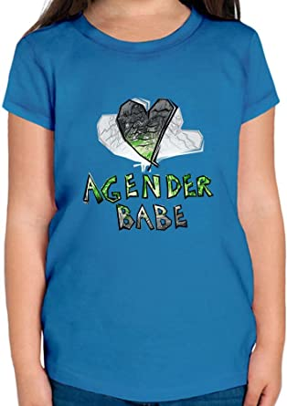 Agender Babe Camiseta niñas 2/3 yrs: Amazon.es: Ropa y accesorios