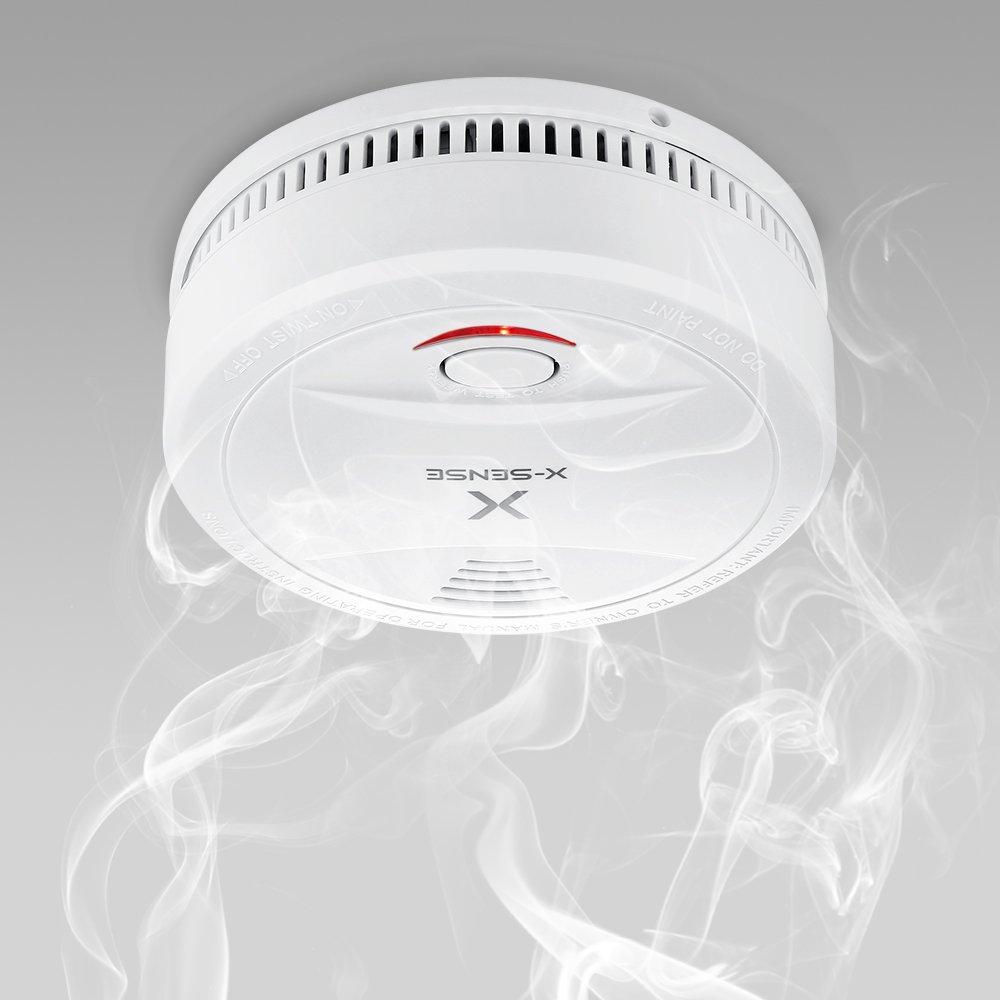 X-Sense SD12 Detector de Humo Alarma de Humo con Batería de 10 Años de Duración Normas EN14604 - 10 Unidades: Amazon.es: Industria, empresas y ciencia