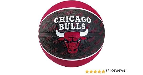 Spalding Team Ball Chicago Bulls - Pelota de Baloncesto (Talla 7 ...