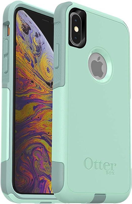 OtterBox COMMUTER SERIES Coque pour iPhone Xs et iPhone X Emballage au détail OCEAN WAY (AQUA SAIL/AQUIFER)