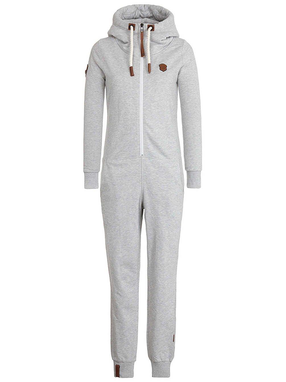 Naketano Women's Overall Blaumann VIII L Grey