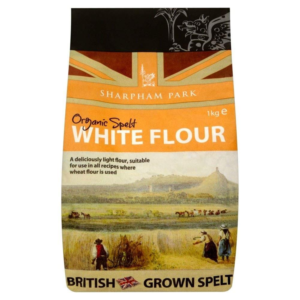 Sharpham Park Organic Spelt White Flour (1Kg) - Pack of 6