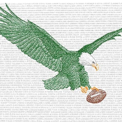 "Philadelphia Eagles All Time Roster Word Art Print - Handwritten with The Names of Every Eagles Player in History - 16""x20"" - Great Gift - Eagles Artwork - Handwritten with the names of every single Eagles player from 1933-2017 Each print is hand signed by the artist Standard size for framing - 16""x20"" - wall-art, living-room-decor, living-room - 61BOqmCBt1L. SS400  -"