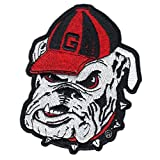 Georgia Bulldogs NCAA College School Logo Embroidered Iron On Patch Large