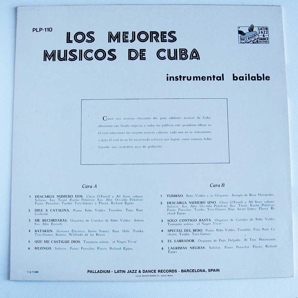 Chico OFarrill, Peruchin, ao Bebo Valdes - Los Mejores Musicos De Cuba [LP] - Amazon.com Music