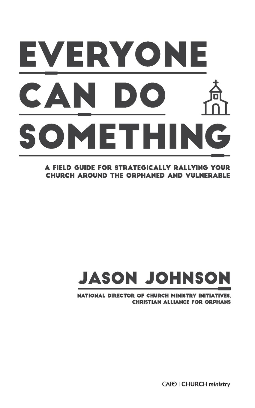 Read Online Everyone Can Do Something: A Field Guide for Strategically Rallying Your Church Around the Orphaned and Vulnerable pdf epub