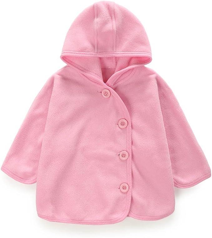 Yanzi6 Unisex-Baby Winter Polar Fleece Unique Buckles Style Cloak Outwear