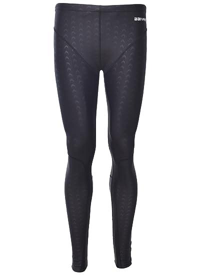 Panegy Pantalones Largos Bañador Traje de Baño de Secado Rápido Impermeable Swimwear para Hombres Competición Natación